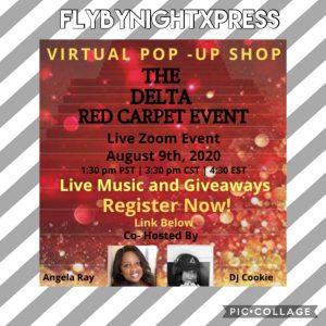 A Delta Red Carpet Virtual Pop Up