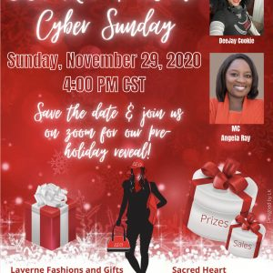A DST RED & WHITE CYBER Virtual Pop Up